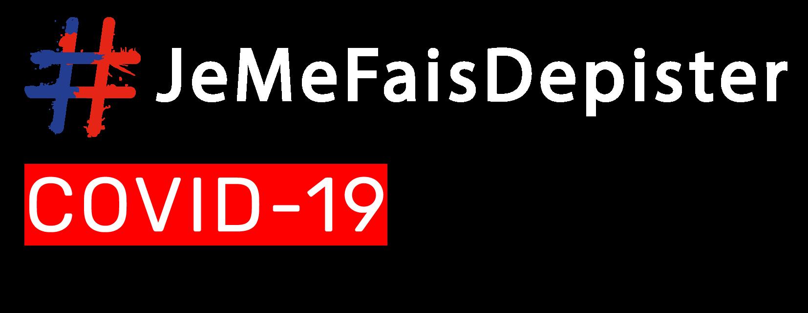 logo #JeMeFaisDepister.fr
